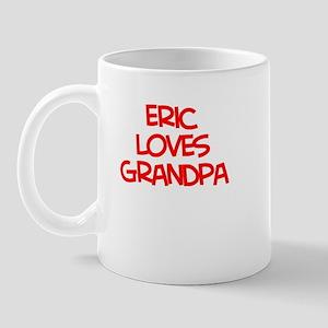Eric Loves Grandpa Mug