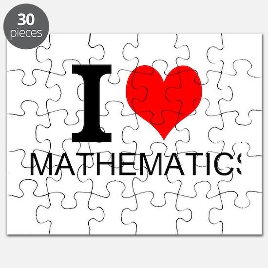 I Love Mathematics Puzzle