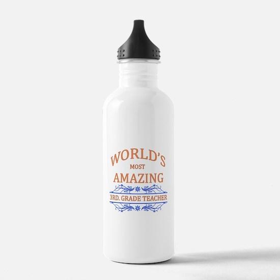 3rd. Grade Teacher Water Bottle