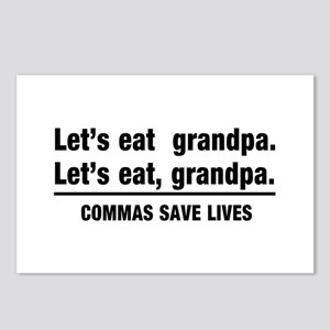 lets eat grandpa Postcards (Package of 8)