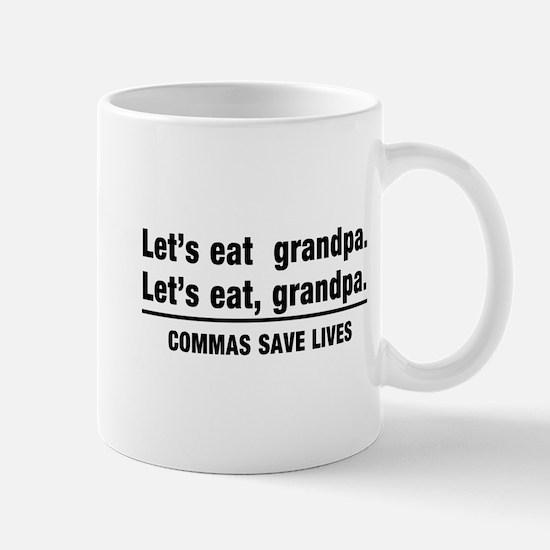 lets eat grandpa Mugs