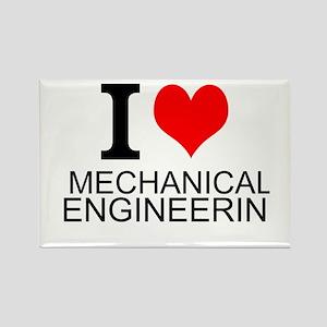 I Love Mechanical Engineering Magnets