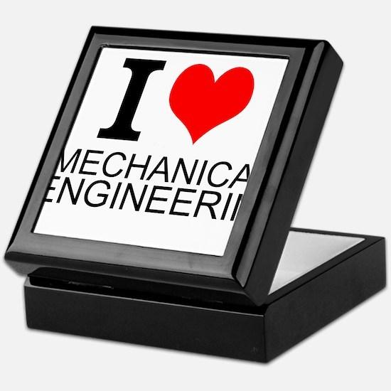 I Love Mechanical Engineering Keepsake Box