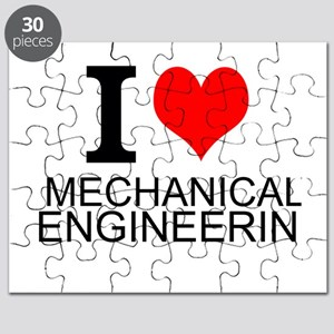 I Love Mechanical Engineering Puzzle