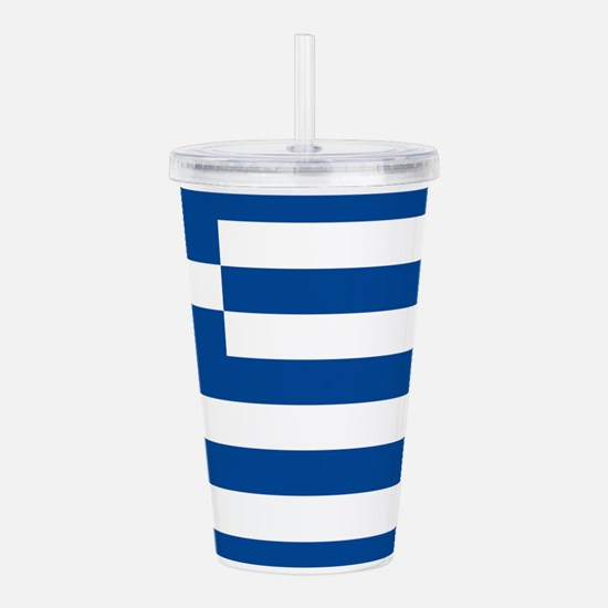 greek-flag.gif Acrylic Double-wall Tumbler