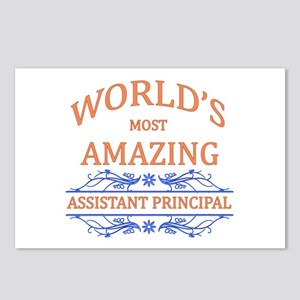 Assistant Principal Postcards (Package of 8)