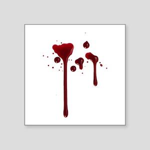 Dripping blood Sticker