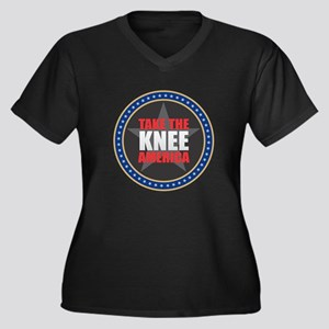 Take the Knee Plus Size T-Shirt