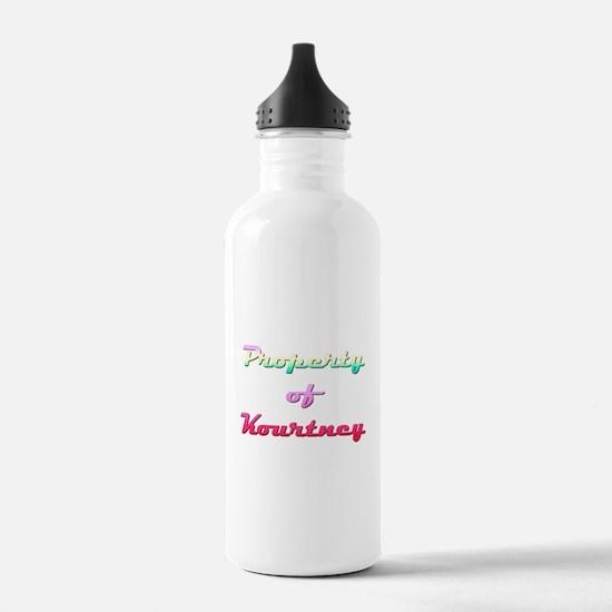 Property Of Kourtney Female Water Bottle