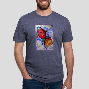 rocket, spaceship art T-Shirt