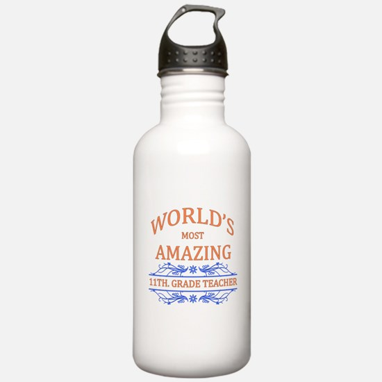 11th. Grade Teacher Water Bottle