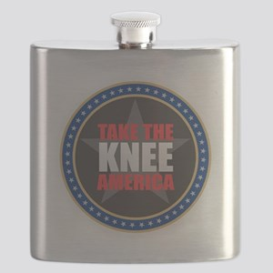 Take the Knee Flask