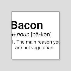Bacon Definition Sticker