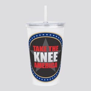 Take the Knee Acrylic Double-wall Tumbler