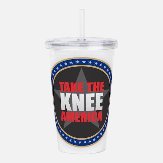 Take the Knee Acrylic Double-wall Tumbler
