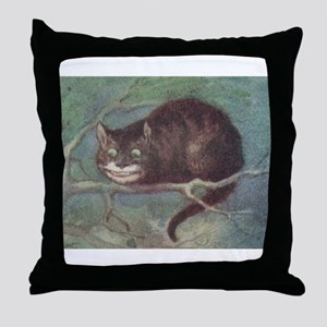 Cheshire Cat - Throw Pillow