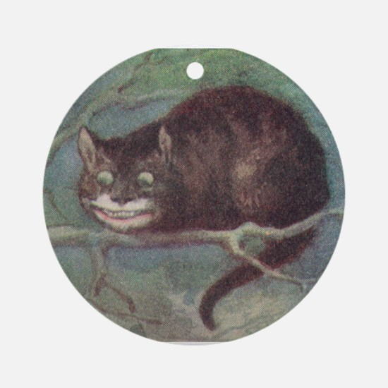 Cheshire Cat - Ornament (Round)