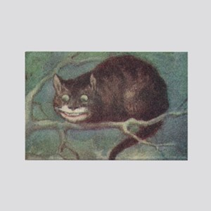 Cheshire Cat - Rectangle Magnet