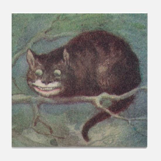 Cheshire Cat - Tile Coaster