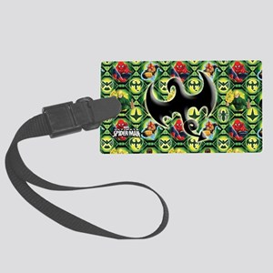 Ultimate Spider-man: Iron Fist Large Luggage Tag