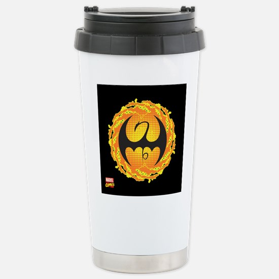 Iron Fist Icon Stainless Steel Travel Mug