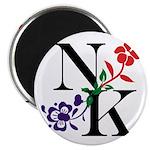 Nicki Kris Logo - Black Lettering Magnets