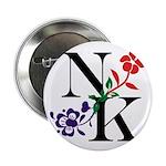 "Nicki Kris Logo - Black Lettering 2.25"" Button"