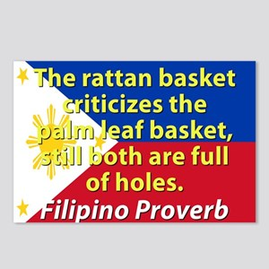 The Rattan Basket Criticizes Postcards (Package of