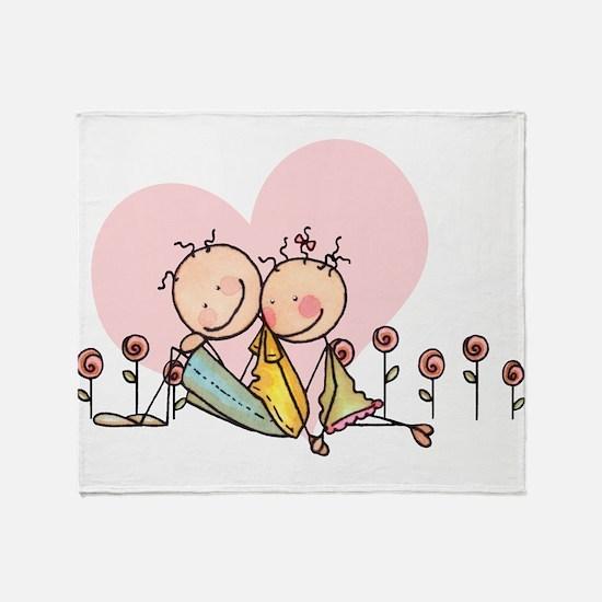 I Love You, Nostalgia Stix Throw Blanket