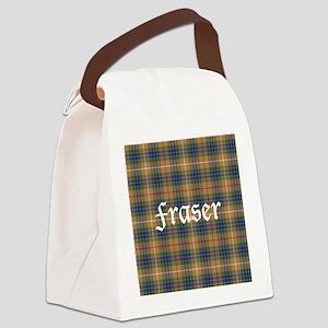 Tartan - Fraser hunting Canvas Lunch Bag