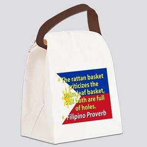 The Rattan Basket Criticizes Canvas Lunch Bag