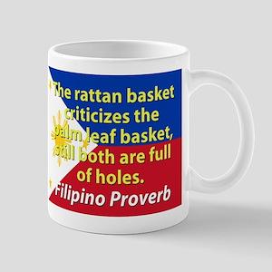 The Rattan Basket Criticizes Mugs