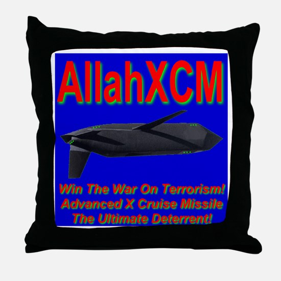 AXCM (AllahXCM) Anti-terroris Throw Pillow