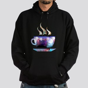 Mosaic Polygon Colorful Cup of Cocoa Hoodie
