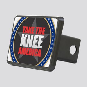Take the Knee Rectangular Hitch Cover