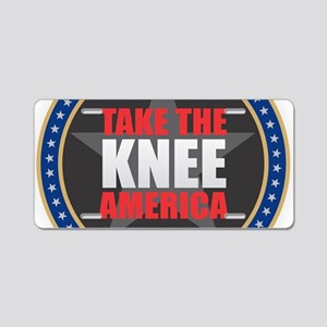 Take the Knee Aluminum License Plate