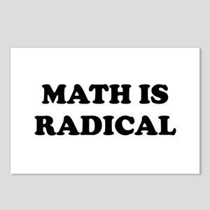 Math is radical Postcards (Package of 8)