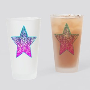Glitter 9 Drinking Glass