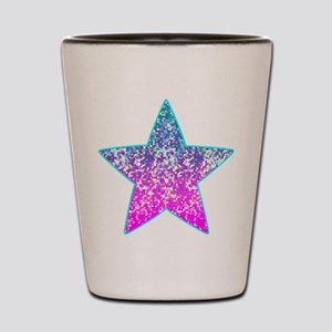 Glitter 9 Shot Glass