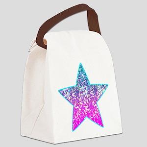 Glitter 9 Canvas Lunch Bag