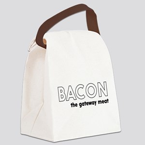 Bacon the gateway meat Canvas Lunch Bag