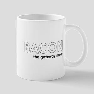 Bacon the gateway meat Mugs