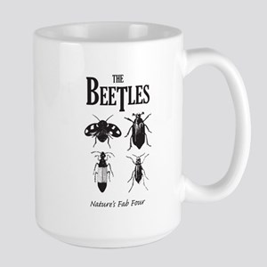 Beetles Large Mug