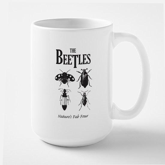 Beetles Large Mug