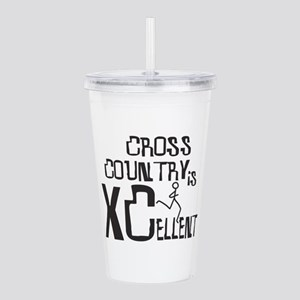 XC Cross Country Acrylic Double-wall Tumbler