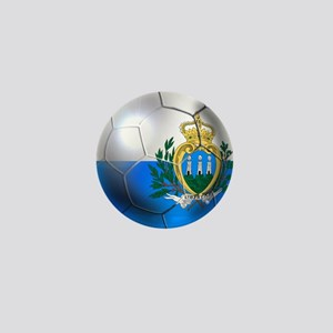 San Marino Football Mini Button