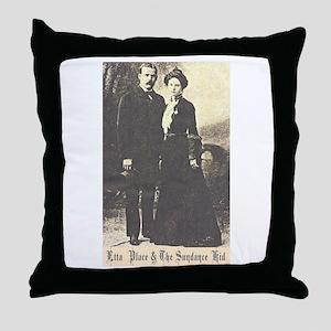 Etta and Sundance Throw Pillow