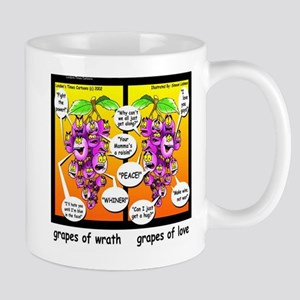 Grapes Of Wrath Peace Mugs