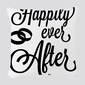 Happily Ever After Woven Throw Pillow
