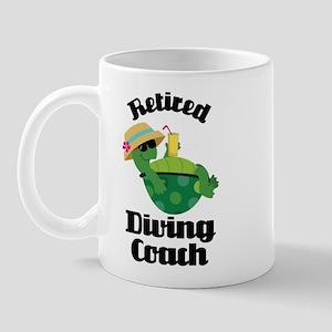 Retired diving coach Mug
